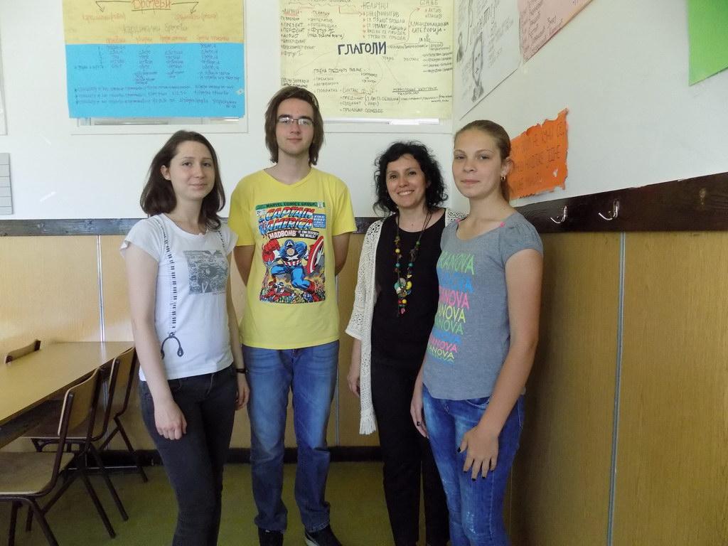 Друго место на Републичком такмичењу из српског језика и језичке културе