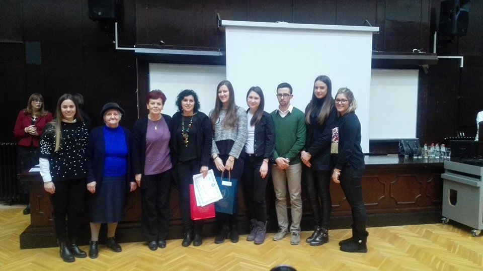 Трећа награда на конкурсу за избор најбоље лингвистичке секције у Србији