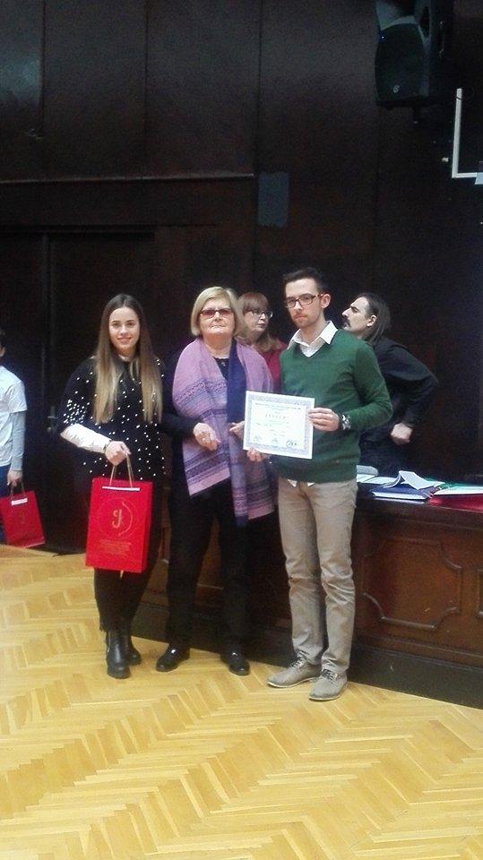 Трећа награда на конкурсу за најбољи средњошколски часопис у Србији