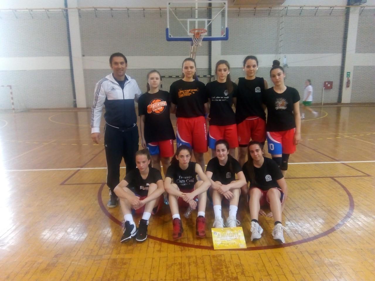 Наше кошаркашице четврте у Србији