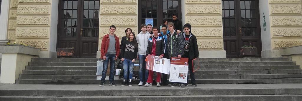 Наши ученици на фестивалу науке у Крагујевцу