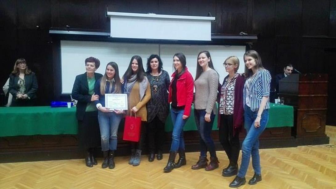 Друга награда на конкурсу за избор најбоље лингвистичке секције